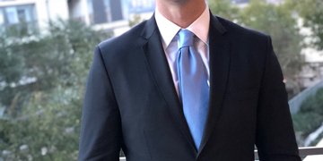 Black slim fit suit testimonials